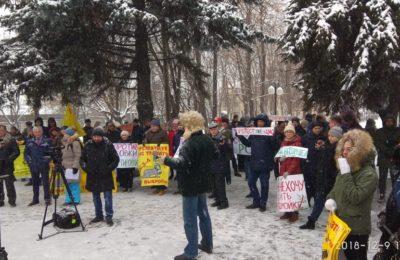 Итоги экологического митинга в Люберцах 9 декабря 2018 г.